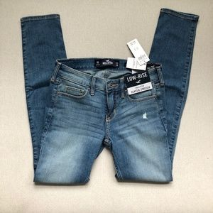Low Rise Super Skinny Stretch Jeans 0 short